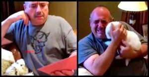 This Dad Lost Two Dogs Then His Daughter Surprised Him By Giving This Card And We're All Crying