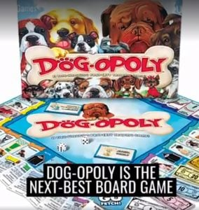 Get Pumped Doggo Lovers Because There's A Dog-Opoly The Board Game For Your Dogs